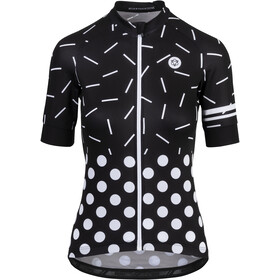 AGU Sprinkle Dot Short Sleeve Jersey Women black/white